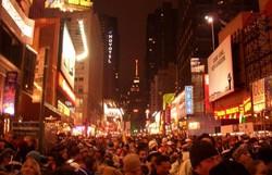 Celebração do ano-novo na Times Square, em Nova York, será virtual (Foto: Reprodução\Wikimedia)
