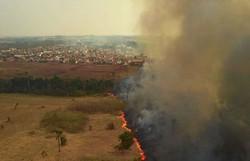 Comissão de parlamentares visita áreas de queimadas no Pantanal (Foto: Divulgação/Mayke Toscano/Secom-MT)