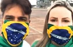 Assassino de Daniella Perez, Guilherme de Pádua vai às ruas para manifestação pró-Bolsonaro (Foto: Reprodução/Instagram)