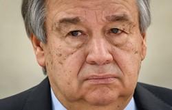 Pior do coronavírus 'está por vir' em países em guerra, diz secretário-geral da ONU (Foto: Fabrice COFFRINI / AFP)
