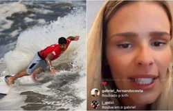 'Foi roubado na cara dura', desabafa Yasmin Brunet após 4º lugar de Medina (YUKI IWAMURA/AFP - Redes sociais)