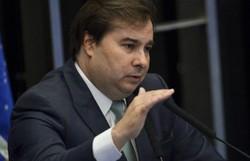 Maia: ato contra STF é inaceitável e participação de Bolsonaro é muito ruim (Foto: Marcelo Camargo/Agência Brasil )