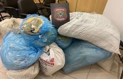 PF apreende 127 kg de maconha em Carnaubeira da Penha, no Sertão do estado (Foto: Polícia Federal/Divulgação)
