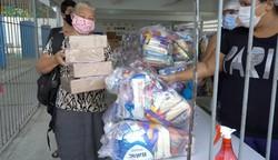 Jaboatão distribui kits de alimentação para estudantes da rede municipal (Divulgação/Prefeitura de Jaboatão)