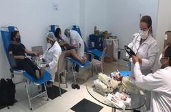 Shopping Guararapes recebe doações de sangue em campanha de coleta externa do Hemope (Foto: Divulgação)
