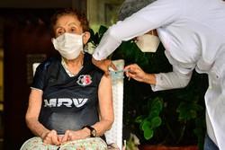 Camaragibe inicia nesta quinta vacinação contra a Covid-19 em instituições de longa permanência de idosos   (Fotos: Victor Patrício)