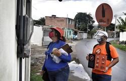 Prefeitura do Recife promove mutirão de arboviroses e outros serviços de saúde em habitacional da Imbiribeira (Foto: Marcos Pastich/PCR)