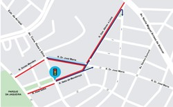 CTTU altera sentido de três ruas do Rosarinho (Foto: Divulgação/CTTU.)