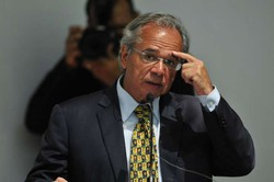 """Seria insanidade privatizar o SUS"", diz Guedes (FOTO: MINERVINO JUNIOR/C.B/D.A Press)"