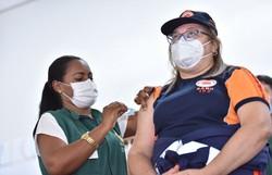 Vacinação contra Covid-19 em Manaus continua suspensa (Foto: Dhyeizo Lemos / Semcom)