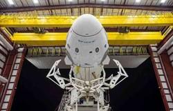 SpaceX se prepara para enviar astronautas ao espaço pela primeira vez (Foto: SPACEX/AFP)