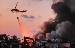 Balanço de explosões no porto de Beirute aumenta a 73 mortos e 3.700 feridos (Foto: STR / AFP  )