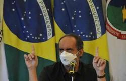 Kalil: 'Conversar com Bolsonaro só se for com sinal de fumaça' (crédito: Juarez Rodrigues/EM/D.A PRESS)