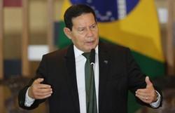 Mourão diz que Brasil 'não tem que ser mendigo' ao buscar recurso contra desmatamento (crédito: Fabio Rodrigues Pozzebom/Agência Brasil)