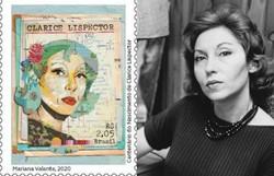 Centenário de Clarice Lispector ganha selo comemorativo dos Correios (Fotos: Correios/Divulgação e Divulgação)