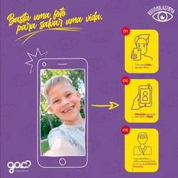 GAC-PE faz campanha para alertar sinais e sintomas de tumor ocular comum nas crianças (Foto: Divulgação)