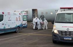 Setenta e sete pacientes com Covid-19 foram transferidos do Amazonas (Foto: Divulgação/Força Aérea Brasileira (FAB))