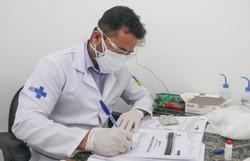 Bairro de Águas Compridas recebe o Olinda Mais Saúde (A ação oferece consultas, atualização de vacina e avaliação nutricional. Foto: Divulgação)