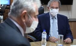 Ministro da Economia pede que Pacheco paute votação da reforma do IR (Ministro reuniu-se com relator da proposta no Senado. Foto: Edu Andrade/Ascom/ME )