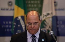 Witzel nega participação em desvios na saúde e sugere interferência de Bolsonaro em operação da PF (Foto: Mauro Pimentel/AFP)