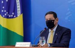 Mourão rebate França e diz que Guiana Francesa tem garimpo ilegal (Foto: Romerio Cunha/Vice-Presidência/AFP)