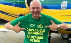 Covid-19: Luciano Hang, dono da Havan, está internado em São Paulo (Foto: Facebook/Reprodução)