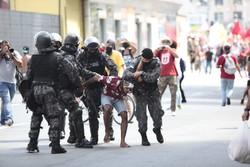 Homem que levou tiro da PM e perdeu parte da visão prestou depoimento nesta segunda (Foto: Arnaldo Sete / Esp. DP Foto )