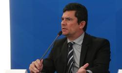 ''Tão loucos mas, ainda bem, tão poucos'', diz Sergio Moro sobre bolsonaristas (Foto: Marcello Casal Jr/Agência Brasil)