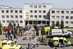Tiroteio em escola na região central da Rússia deixa nove mortos (Foto: Roman Kruchinin / AFP)