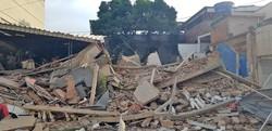 Bombeiros encerram buscas em prédio que desabou na Baixada Fluminense (Foto: Reprodução)
