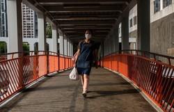 Covid-19: um terço da população mundial está em isolamento  (Foto: Isaac Lawrence/AFP)