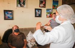 Cabo inicia vacinação contra covid-19 dos idosos com 63 e 62 anos nesta semana (Foto: Leo Domingos / PMCSA)