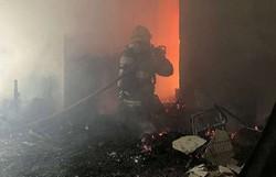 Homem dorme com cigarro aceso e provoca incêndio em Belo Horizonte (Foto: CBM)