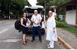 UFPE doa álcool 70% para a Polícia Científica de PE e Secretaria de Saúde de Caruaru (Foto: Anderson Lima/UFPE)