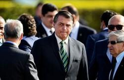 Bolsonaro participa de cerimônia de 80 anos do Comando da Aeronáutica (AFP/Evaristo SA)