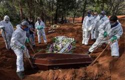 Covid-19: Brasil tem mais de 5,4 milhões de casos confirmados (Foto: AFP)