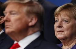 Angela Merkel rejeita convite de Trump para reunião presencial do G7 em Washington  (PETER NICHOLLS/AFP )