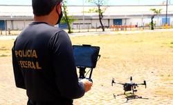 Eleições 2020: Fiscalização por drones pela Polícia Federal em todos os estados brasileiros  (Foto: PF/Divulgação)