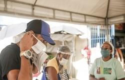 PCR divulga locais onde serão distribuídas máscaras na próxima semana (Foto: Andréa Rêgo Barros/PCR)