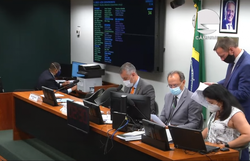 Comissão Especial da Câmara aprova projeto polêmico para nova lei antiterrorismo (Foto: Reprodução/TV Câmara)