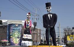 México dedica altar do Dia dos Mortos aos falecidos por Covid-19 (Foto: ALFREDO ESTRELLA / AFP )