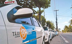 Recadastramento de taxistas é adiado para 2021 devido à pandemia (Foto: Tânia Passos/Arquivo DP.)