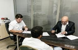 Prefeitura do Recife e UFPE firmam parceria para realização de testes do novo coronavírus (Foto: Cortesia)