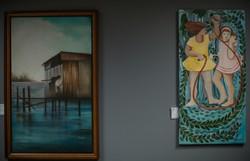 Mostra reúne obras de artistas pernambucanas no gabinete da vice-prefeita do Recife