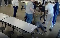Adolescente negro é morto sufocado por monitores nos EUA (Foto: Reprodução/Vídeo )