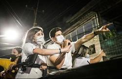 Após votar em SP, Tabata volta ao Recife e comemora vitória ao lado de João Campos (Foto: Divulgação/Rodolfo Loepert)