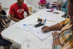 Documentos são emitidas gratuitamente em Jaboatão neste sábado (Ray Evllyn/SJDH)