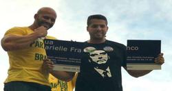 Após quebrar placa, deputado propõe homenagem à Marielle (Foto: Redes sociais/Reprodução)