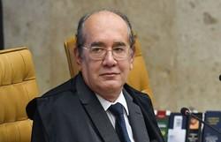 Gilmar Mendes suspende efeitos de veto sobre uso máscara em presídios (Foto: Carlos Moura/SCO/STF)