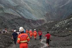 Deslizamento de terra mata 113 mineiros no norte de Mianmar (Foto: Handout / MYANMAR FIRE SERVICES DEPARTMENT / AFP)
